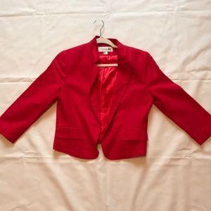 Red Forever21 blazer